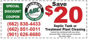 septic cleaning coupon